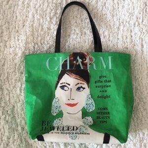 Kate Spade CHARM Bon Shopper Tote Bag